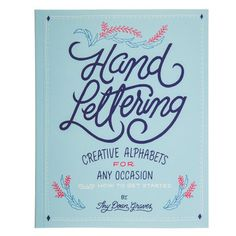 Add this lettering workbook to your crafting corner to unwind as you learn how to create beautiful hand-drawn letters. Hand Lettering: Creative Alphabets for Any Occasion (Plus How To Get W x HTrade paperWritten by Thy DoanPublisher: pagesImported Creative Lettering, Brush Lettering, Lettering Design, Hand Drawn Lettering, Lettering Tutorial, Lettering Styles, Book Letters, Pen And Paper, Brush Pen