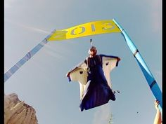 http://www.alexanderpolli.com    Awesome wingsuit proximity flight! 2013 Happy New Year message from Alexander Polli.    Human flight Athlete, Alexander Polli, blasts into the New Year. He's hoping to give his fans some festive eye candy. Proximity flying in Spain, his target is a 2x1 meter '2013' sign, just 2 meters off the ground. His first attemp...