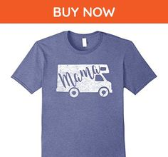 Mens Motorhome Mama Shirt: Travel Home Mother, Mom, Mommy Tee Medium Heather Blue - Relatives and family shirts (*Amazon Partner-Link)