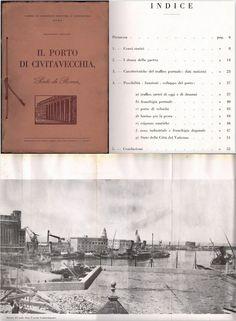 Il Porto di Civitavecchia immagini della 2° guerra mondiale illustrato 1952