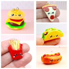 Here is a collection of mini fast food Kawaii supporters., is a collection of mini fast food Kawaii supporters. Check them out on my web pages . - Fimo Mug Mug cup - you Polymer Clay Kawaii, Fimo Clay, Polymer Clay Charms, Polymer Clay Jewelry, Polymer Clay Sweets, Clay Beads, Clay Earrings, Polymer Clay Miniatures, Polymer Clay Creations