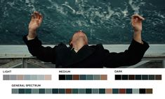 Once again, great skin tones and blue. The Master, 2012 Cinematography: Mihai…
