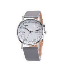 1.84$  Watch now - OKTIME Brand Women watch lady gift girl Retro Design Lovely Cartoon Cat Leather Band Analog Alloy Quartz Wrist Watch y93   #buymethat