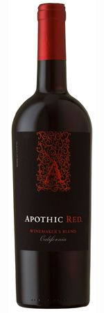 Apothic Red Blend 2011 -- my favorite everyday red $11. A perfect blend for all occasions.