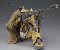 Custom Build: HG 1/144 Zaku Cannon Test Type - Gundam Kits Collection News and Reviews