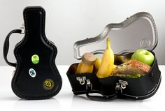 Guitar Case Lunch Box – Foodiggity Shop<<<- i would need it to be the size of an actual guitar