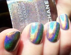 Makeupalley Nail Care Board - NOTD: Chanel Holographic++ - 4/6/2011 9:26AM
