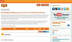 Social Media Influences Less Than 1% of Online Purchases