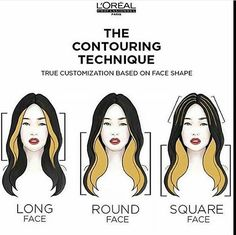 The Contouring Technique For Hair!