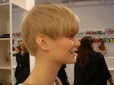 Blond pixie