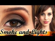 Smoke and Lights - Holiday Makeup - YouTube