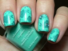 Nail color trends like Seafoam, Turquoise, corals and oranges will make that summer glow pop out