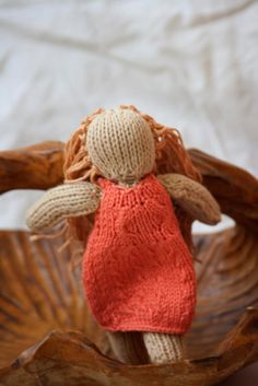 Doll Knitted Doll Nature Doll