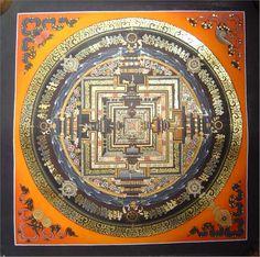Mandala is a tool used for meditation Mandala Art, Mandala Painting, Tibetan Mandala, Tibetan Art, Buddha Buddhism, Tibetan Buddhism, Pentacle, Temples, Buddhist Symbols