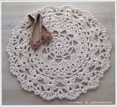 Free Crochet Rug Patterns Australia : 1000+ ideas about Crochet Doily Rug on Pinterest Doily ...