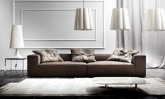Great sofa Dylan by Erba Italia at www.selissa.com!