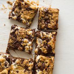 Oatmeal S'mores Bars http://www.spoonforkbacon.com/2015/06/oatmeal-smores-bars/