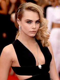 The best beauty looks from the Met Gala 2014: Cara Delevingne