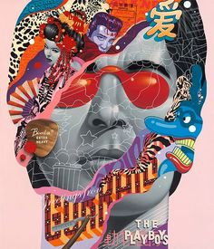 """Incredible paintings by LA-based artist Tristan Eaton. """"One look at Eaton's work and you can immediately see a collage of influences, and he has always… Art And Illustration, Illustrations, Fashion Painting, Fashion Art, Trendy Fashion, Fashion Design, Street Portrait, Design Graphique, Arte Pop"""