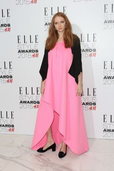 Lily Cole ELLE Style Awards 2015