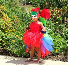 parrot tutu/ parrot tutu dress/ parrot by JosieJosHeadbands