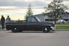 Any pix of blacked out c10's? - The 1947 - Present Chevrolet & GMC Truck Message Board Network