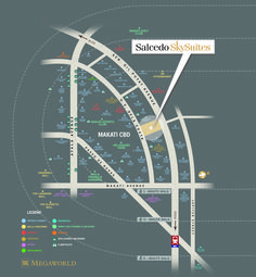 Salcedo Skysuites in Prime Location Accesible to Edsa, Ayala Avenue,Schools,Hospitals,Hotels and Fine Dining Restaurant Makati, Location Map, Hospitals, Fine Dining, Schools, Mall, Condo, This Is Us, Hotels
