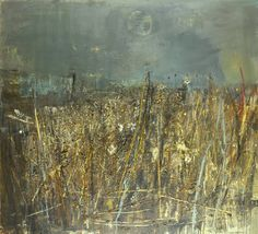 Seeded grasses and daisies - Joan Eardley