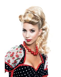 I wonder if a costume wig can be styled to change the curl on the forehead of this wig? - Lexi Blonde Ponytail Wig (appears to be out of stock everywhere)