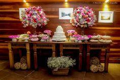 A Fernanda Gurjão Cerimonial faz decoração de mini wedding com clima intimista, rústico ou vintage.