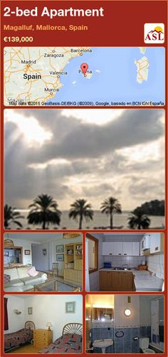 Apartment for Sale in Magalluf, Mallorca, Spain with 2 bedrooms - A Spanish Life 2 Bedroom Apartment, Two Bedroom, Murcia, Valencia, Barcelona, Built In Wardrobe, Apartments For Sale, Dining Area, Terrace