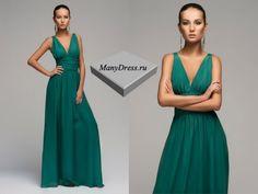 Модные зеленые платья - одежда от украинских дизайнеров