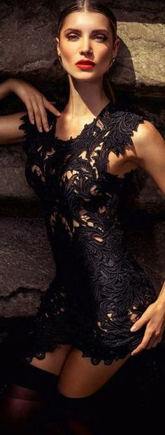 Little Black Dress - Camila Mingori for Elle Brazil September 2013 by Gustavo Marx | LBV ♥✤ | KeepSmiling | BeStayElegant