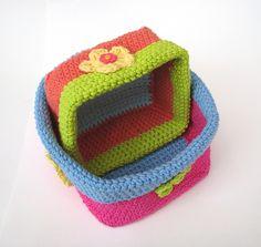 Ravelry: Crochet square basket pattern by Eva Unger