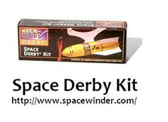 With Space derby kits you can learn assembling Space Derby Rockets. These rockets are made up of different kind of material. To know more visit our webpage: http://www.spacewinder.com/Space-Derby-Rockets
