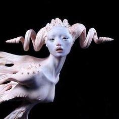 polymer clay fantasy sculptures