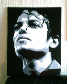 michael jackson pop art..