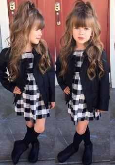 Little girl fashion Little Girl Outfits, Little Girl Fashion, Toddler Outfits, Kids Outfits, Toddler Girl Style, Toddler Fashion, Kids Fashion, Baby Girl Closet, Girls Winter Fashion