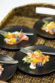 ZINC Wedding Showcase 2013 - delicious entree by ZINC #weddingfood #reception Entrees, Reception, Weddings, Food, Bodas, Lobbies, Hochzeit, Essen, Wedding