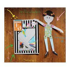 Te presentamos en Munack el juego Articulados con todo lo necesario para que los más peques armen cuatro divertidas marionetas de cartón.  $100,00