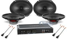 nice Rockford Fosgate 300W Amplified 4 Speaker Car Stereo Sound System Upgrade Check more at https://aeoffers.com/product/electronics-and-computers/rockford-fosgate-300w-amplified-4-speaker-car-stereo-sound-system-upgrade/