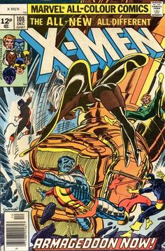 Cover for The X-Men (Marvel, 1963 series) #108