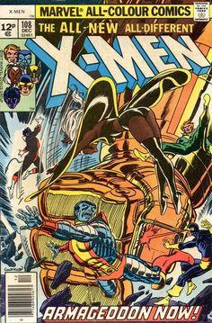 Cover for The X-Men (Marvel, 1963 series) #108