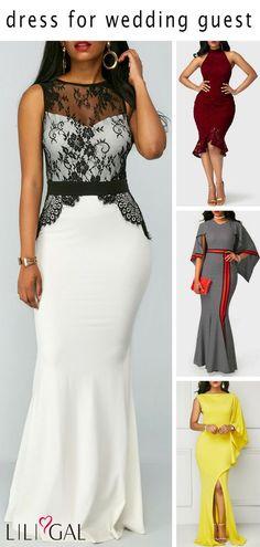 Beautiful dresses for wedding guests. #liligal #dresses #womenswear #womensfashion