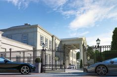 Architectural visualisation of a new house in Surrey