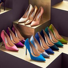 Jimmy Choo Shoes Sale: wedding shoes, heels, boots and trainers Jimmy Choo Romy, Jimmy Choo Shoes, Crazy Shoes, Me Too Shoes, Sexy Heels, High Heels, Women's Shoes Sandals, Shoe Boots, Pump Shoes