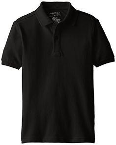 Mud Kingdom Boys Polo Shirts Short Sleeve Uniform