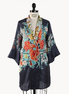 Trendy Plus Size Bohemian Clothing - Demeter Mix Print Kimono by fashionstylehunter :: fashion looks Plus Size Fashion Tips, Plus Size Outfits, Plus Size Bohemian Clothing, Size Clothing, Boho Clothing, Curvy Fashion, Fashion Looks, Johnny Was Clothing, Girl With Curves