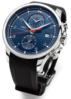 My absolute favorite timepiece, can't wait for the release!!!! IWC for Laureus 2013 – Portuguese Yacht Club Chrono