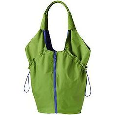 Expandable Tote - The one lightweight bag we should all keep in the car for shopping or going to the gym expands instantly just by zipping down the middle.